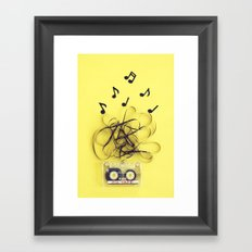 Mix Tape (ANALOG ZINE) Framed Art Print