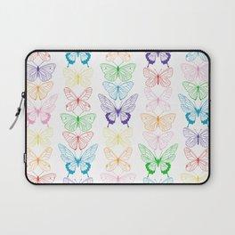 Butterfly Rainbow Laptop Sleeve