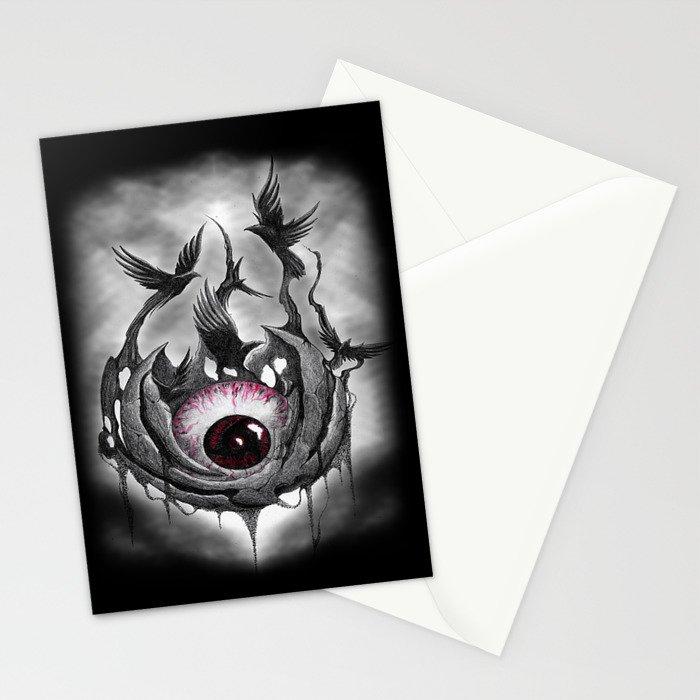 Mangekyou sharingan Stationery Cards