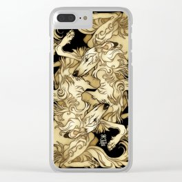 Cry No More Clear iPhone Case