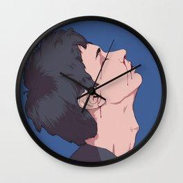 Bleeding Wall Clock