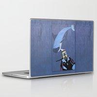 scuba Laptop & iPad Skins featuring Scuba diver by Aquamarine Studio