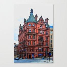 Hope Street Meets St Vincent Street Canvas Print