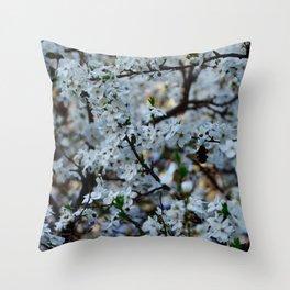 Flower Photography by Wiktor Tenerowicz Throw Pillow