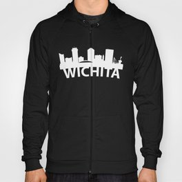 Curved Skyline Of Wichita KS Hoody