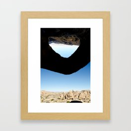 THRESHOLD Framed Art Print