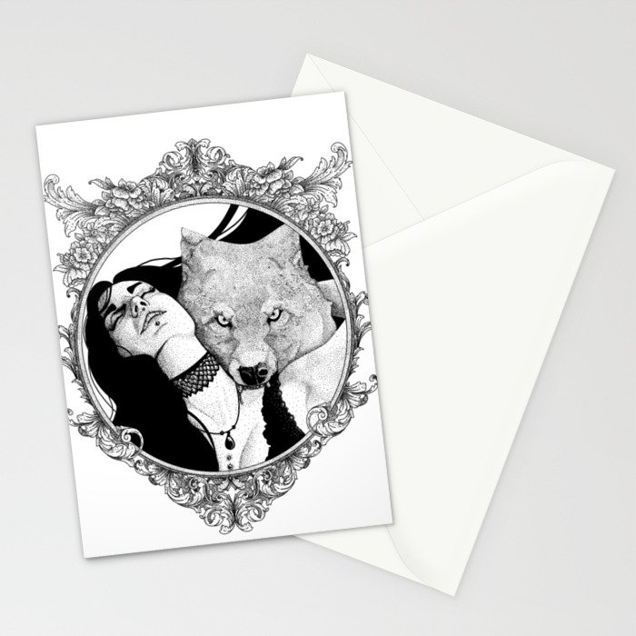 Love Bite Stationery Cards