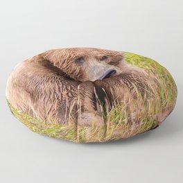 Brown Bear Kodiak Floor Pillow