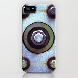 Bolts iPhone Case