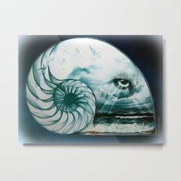 The Great Eye In The Sky Metal Print