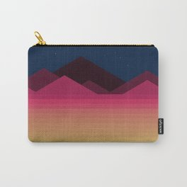 Desert Night (Voxel) Carry-All Pouch