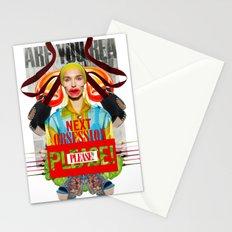 Next Obsession by Lenka Laskoradova Stationery Cards