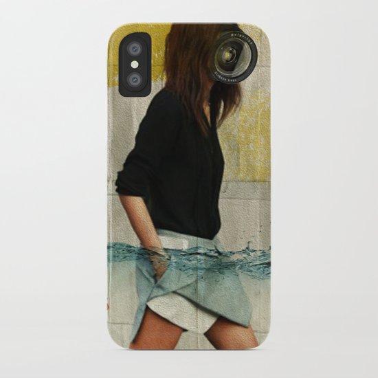Deep Water Running iPhone Case