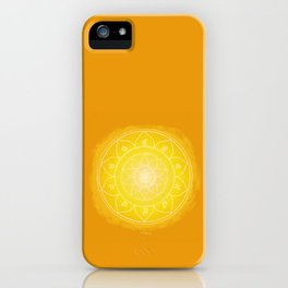 MANIPURA Boho mandala iPhone Case