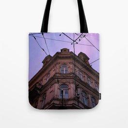 Purple Sunset Lviv, Ukraine Tote Bag