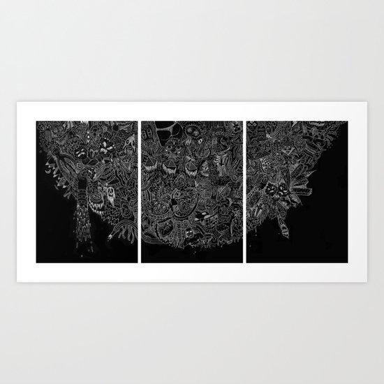 THE ELEMENTS Art Print