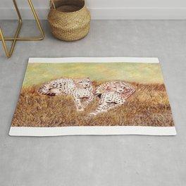 Resting Cheetahs Rug