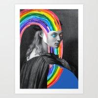 #3 Portrait of Bindo Altoviti Art Print