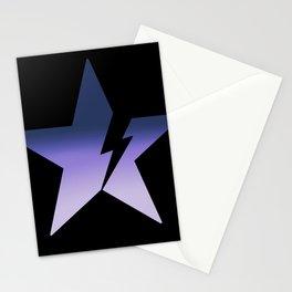 Blackstar not black Stationery Cards
