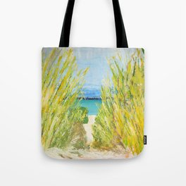The water is waiting  Tote Bag