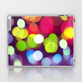 Light Dots Laptop & iPad Skin