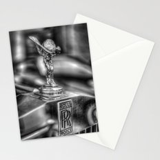 Rolls Royce Black and White Stationery Cards