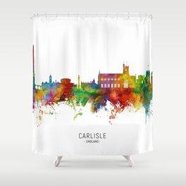 Carlisle England Skyline Shower Curtain