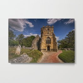 St Mary Newick Metal Print