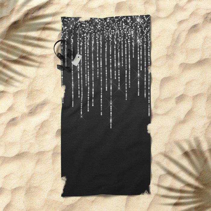 Fairy Lights 01 Beach Towel