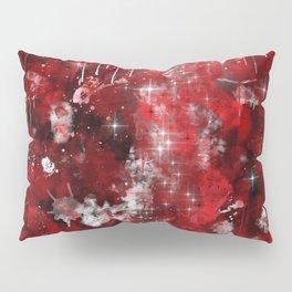 Red Nebula Pillow Sham