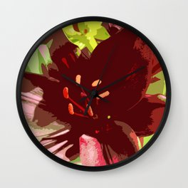 Summers Beauty Wall Clock