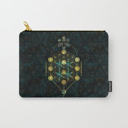 Decorative Sacred Geometry symbol Carry-All Pouch