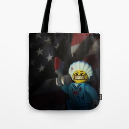 American Psycho in LEGO Tote Bag