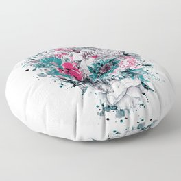 MOMENTO MORI IX Floor Pillow