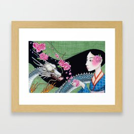 Ancient Whispers Framed Art Print