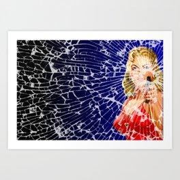 Shattered Wideshot Art Print
