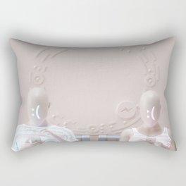 """""""Connection"""" Rectangular Pillow"""