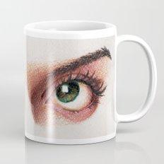Eyes girl are looking something Mug