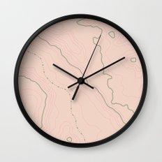 Maps Maps Maps Wall Clock