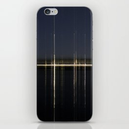 Transposed scenery - Suburb by the lake 2 iPhone Skin
