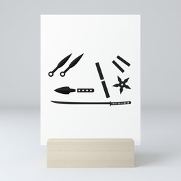 Ninja Kit Mini Art Print