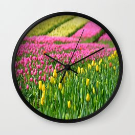 Fields of Colors Wall Clock