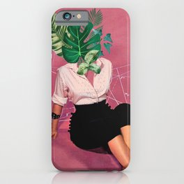 I leaf you iPhone Case