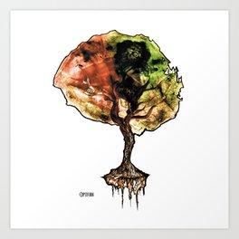 A Tree of Life Art Print