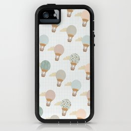 baloon collage pattern  iPhone Case