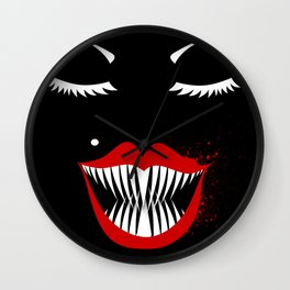 MANEATER. Wall Clock