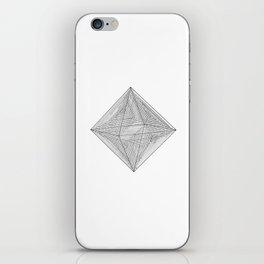 DMT OCTAHEDRON iPhone Skin