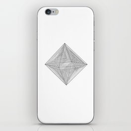DMT OCTAHEDRON iPhone Skin
