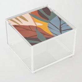 Abstract Art Jungle Acrylic Box