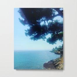 Summer Shade at Cap Martin Metal Print